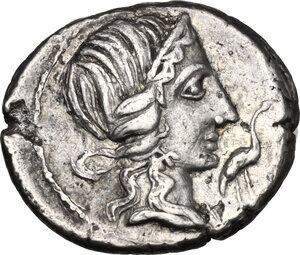 obverse: Q. Caecilius Metellus Pius. . AR Denarius, 81 BC
