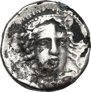 obverse: Bruttium, Kroton. Fourrée Stater, c. 400-325 BC