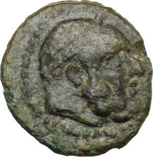 obverse: Bruttium, Petelia. AE 12 mm. Late 3rd century BC