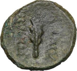 reverse: Bruttium, Petelia. AE 12 mm. Late 3rd century BC