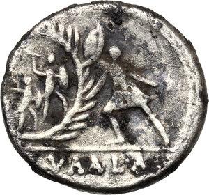 reverse: C. Numonius Vaala.. Fourrée Denarius, c. 41 BC