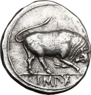 reverse: Augustus (27 BC-14 AD).. AR Denarius, Lugdunum mint, 15 BC