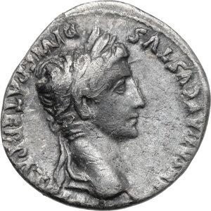obverse: Augustus (27 BC. - 14 AD.).. AR Denarius, 2 BC-2 AD