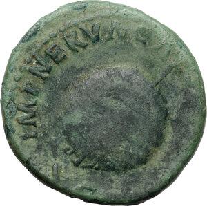 reverse: Augustus (Divus, after 14 AD).. AE Dupondius. Restitution issue, struck under Nerva, 98 AD