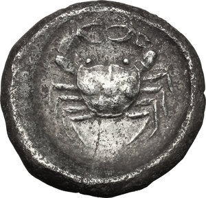 reverse: Akragas. AR Didrachm, c. 500-495 BC