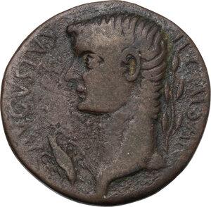 obverse: Tiberius (14-37 AD).. AE 29 mm, Oea (Syrtica). Struck circa AD 22-29