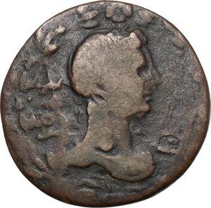reverse: Tiberius (14-37 AD).. AE 29 mm, Oea (Syrtica). Struck circa AD 22-29