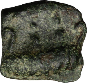 obverse: Tiberius to Domitian. Anonymous AE Tessera, 1st century BC