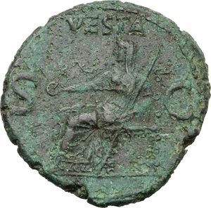 reverse: Gaius (37-41).. AE As, 40-41 AD