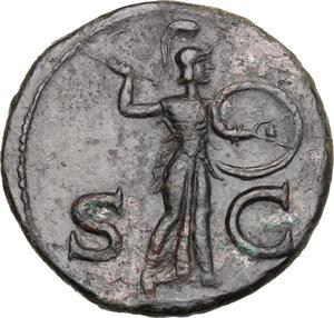 reverse: Claudius (41-54).. AE As, 50-54 AD