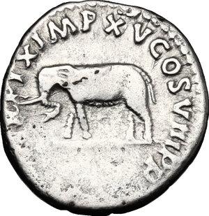 reverse: Titus (79-81).. AR Denarius, 80 AD