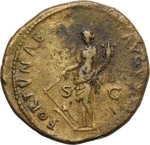 reverse: Domitian (81-96).. AE Dupondius, 88-89 AD