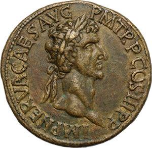 obverse: Nerva (96-98).. AE Cast 'Sestertius'. Paduan type