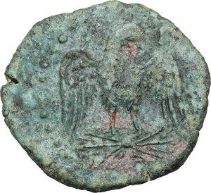 reverse: Akragas. AE 22 mm. 213-210 BC