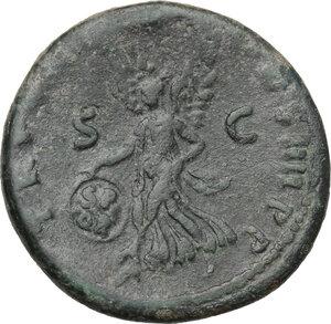 reverse: Trajan (98-117).. AE As, 101-102 AD