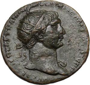 obverse: Trajan (98-117).. AE Dupondius, 103-111 AD