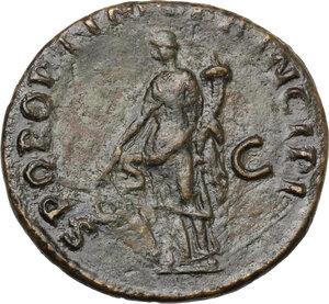 reverse: Trajan (98-117).. AE Dupondius, 103-111 AD