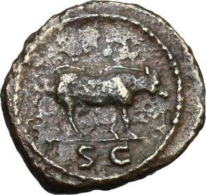 reverse: Trajan (98-117).. AE Quadrans