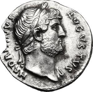 obverse: Hadrian (117-138).. AR Denarius, 125-128 AD