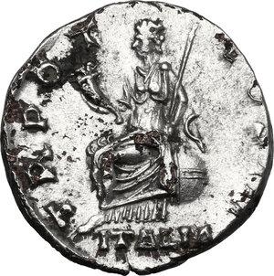reverse: Antoninus Pius (138-161). Fourrée hybrid Denarius, 140-143 AD