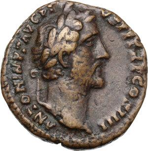 obverse: Antoninus Pius (138-161). AE As, 145-161 AD