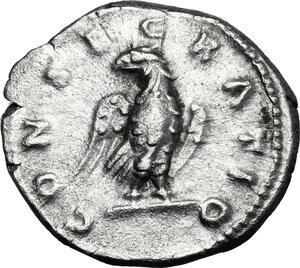 reverse: Antoninus Pius (Divus, after 161 AD).. AR Denarius, struck under M. Aurelius