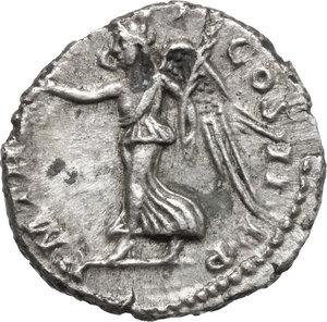 reverse: Septimius Severus (193-211) . AR Denarius, 194-195 AD