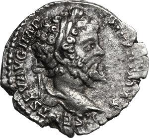 obverse: Septimius Severus (193-211).. AR Denarius, 198-200 AD