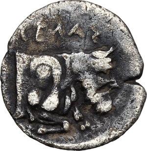 reverse: Gela. AR Litra, c. 430-425 BC