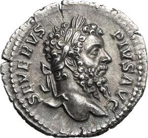 obverse: Septimius Severus (193-211).. AR Denarius, 209 AD