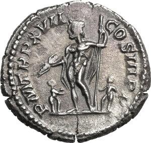 reverse: Septimius Severus (193-211).. AR Denarius, 209 AD