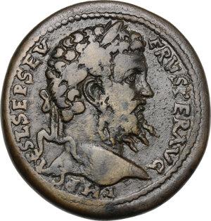 obverse: Septimius Severus (193-211).. AE 35 mm. Antiochia mint (Pisidia).  203-211 AD