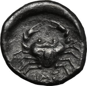 reverse: Himera. AR Drachm, 480-470 BC
