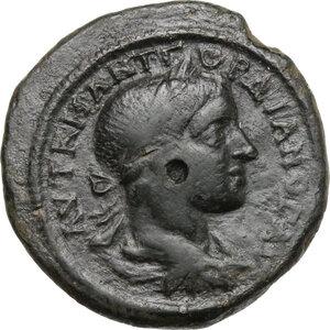 obverse: Gordian III (238-244).. AE 28 mm. Nicopolis ad Istrum mint, Moesia Inferior