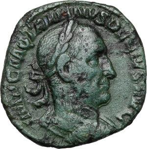 obverse: Trajan Decius (249-251).. AE Sestertius,