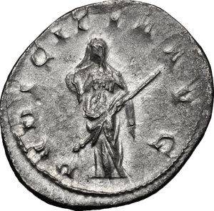 reverse: Herennia Etruscilla, wife of Trajan Decius (249-251 AD).. AR Antoninianus