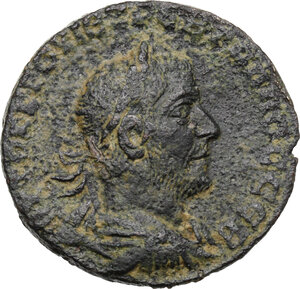 obverse: Trebonianus Gallus (251-253).. AE 29 mm. Antiochia mint (Seleucis and Pieria)