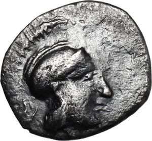 obverse: Panormos as Ziz. AR Litra, c. 405-380 BC
