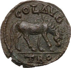 reverse: Valerian I (253-260).. AE 21 mm. Alexandria Troas mint (Troas)