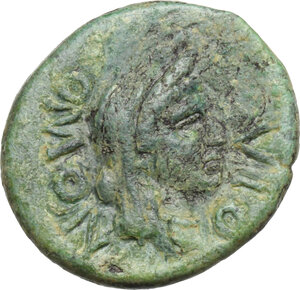 obverse: Panormos, under Roman rule. AE 19 mm, after 241 BC
