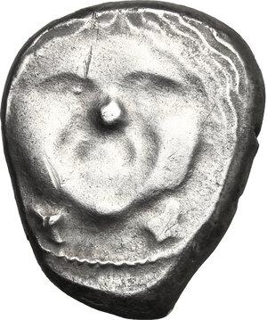 obverse: Etruria, Populonia. AR 20-Asses, 3rd century BC