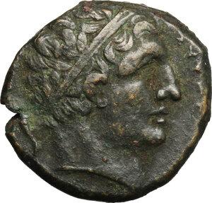 obverse: Syracuse.  Agathokles (317-289 BC).. AE 22mm