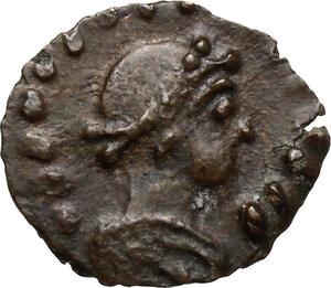 obverse: Barbaric Imitative Coinage.. AE 11 mm. 4th century AD
