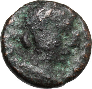 obverse: Ostrogothic Italy, Athalaric (526-534).. AE Nummus in the name of Justinian I, Rome mint