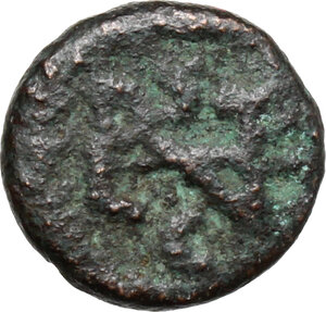 reverse: Ostrogothic Italy, Athalaric (526-534).. AE Nummus in the name of Justinian I, Rome mint
