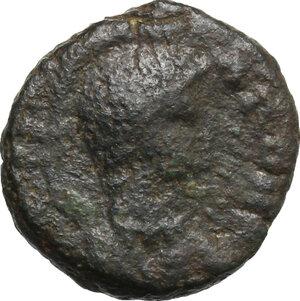 obverse: Ostrogothic Italy. Witigis (536-539).. AE Decanummium, Ravenna mint