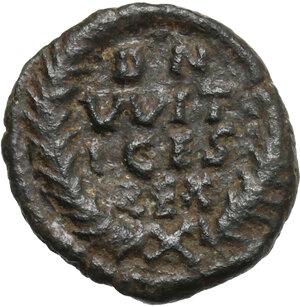 reverse: Ostrogothic Italy. Witigis (536-539).. AE Decanummium, Ravenna mint