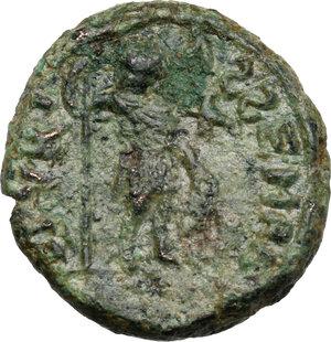 reverse: Ostrogothic Italy, Baduila (541-552).. AE Decanummium, Rome mint, c. 549-552 AD