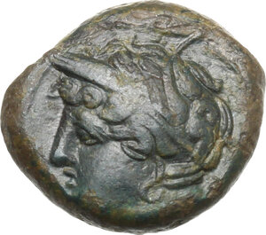 obverse: Uncertain mint. AE 16 mm. c. 400-350 BC