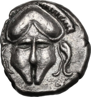 obverse: Thrace, Mesembria .  AR Diobol, 450-350 BC